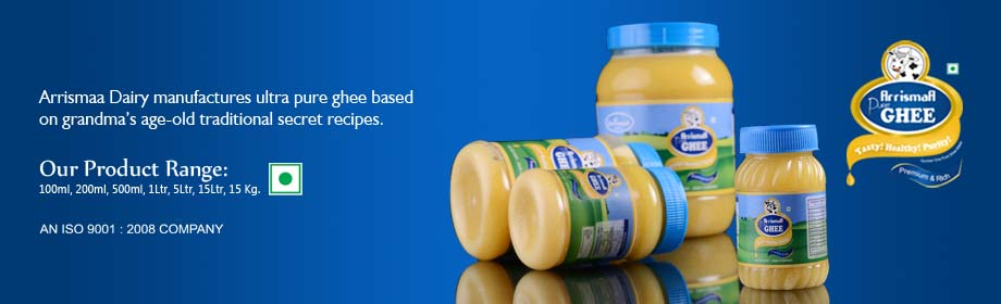 Ultra Pure Ghee Products in 100ml, 200ml, 500ml, 1 Ltr Food
